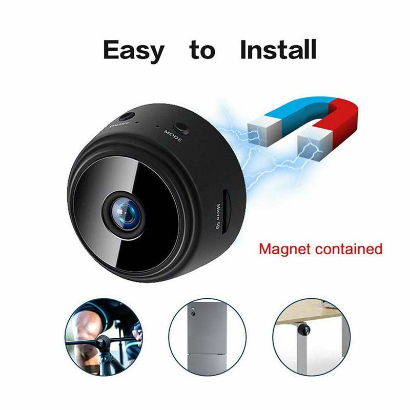 1080P HD Wireless Mini WIFI IP Camera Smart House Security Camera Night Vision