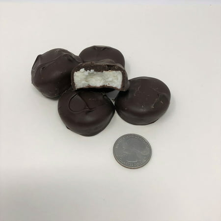Chocolate Patties (Asher's Sugar Free Peppermint Patty Dark Chocolate Candy 1 pound)