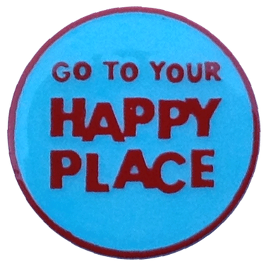 Happy Gilmore - Go To Your Happy Place Golf Ball Marker