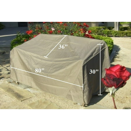 Formosa Covers Patio Sofa Cover With Velcro Up To 80 Long