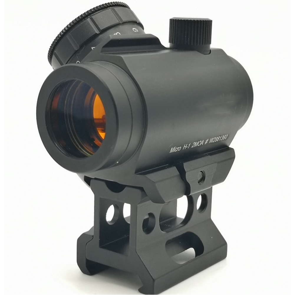 High-definition Red Film Holographic Mirror Folding Red Dot Metal Telescope