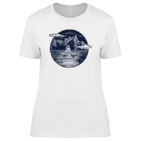 Symbol Of Dream Mountains Tee Women's -Image by Shutterstock
