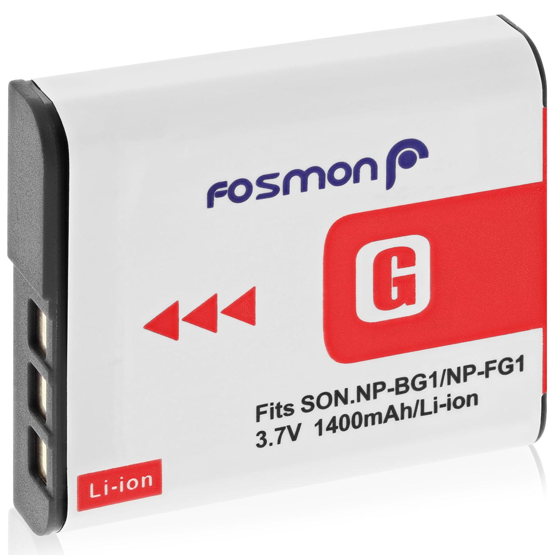 Fosmon Premium Durable Battery Pack for Sony NP-BG1 / NP-FG1 - 1400mAh