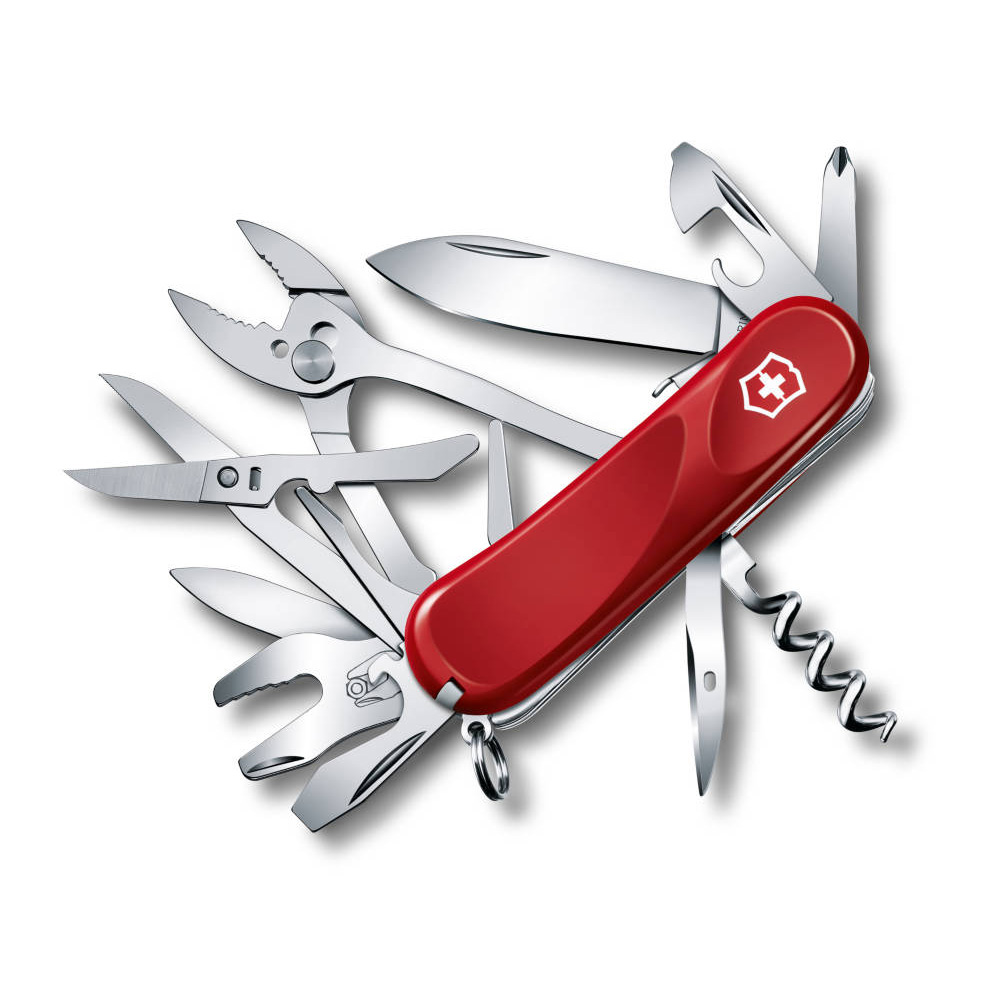 Swiss Army Knife Victorinox Evolution S557 Pocket Knife Multi Tool - Red