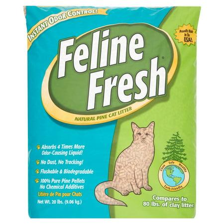 Feline Fresh Natural Pine Cat Litter, 20-lb