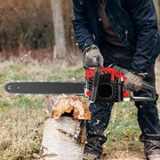 """20"""" 58CC Gas Powered Chainsaw 2 Stroke Handed Petrol Gasoline Chain Saw for Cutting Wood with Tool Kit HFON"""