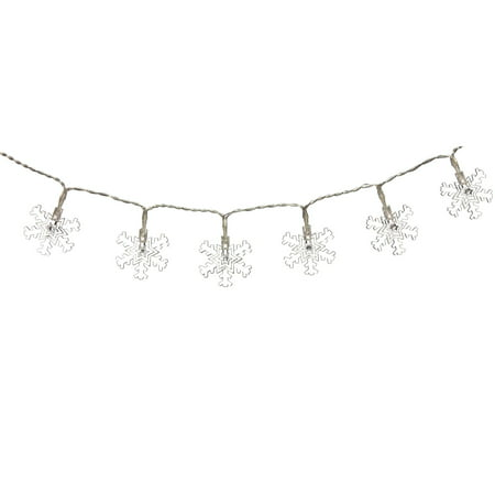Evergreen Enterprises LED Indoor/Outdoor Snowflake String Lights for $<!---->