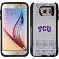 TCU Repeating Gray Design on OtterBox Commuter Series Case for Samsung Galaxy S6