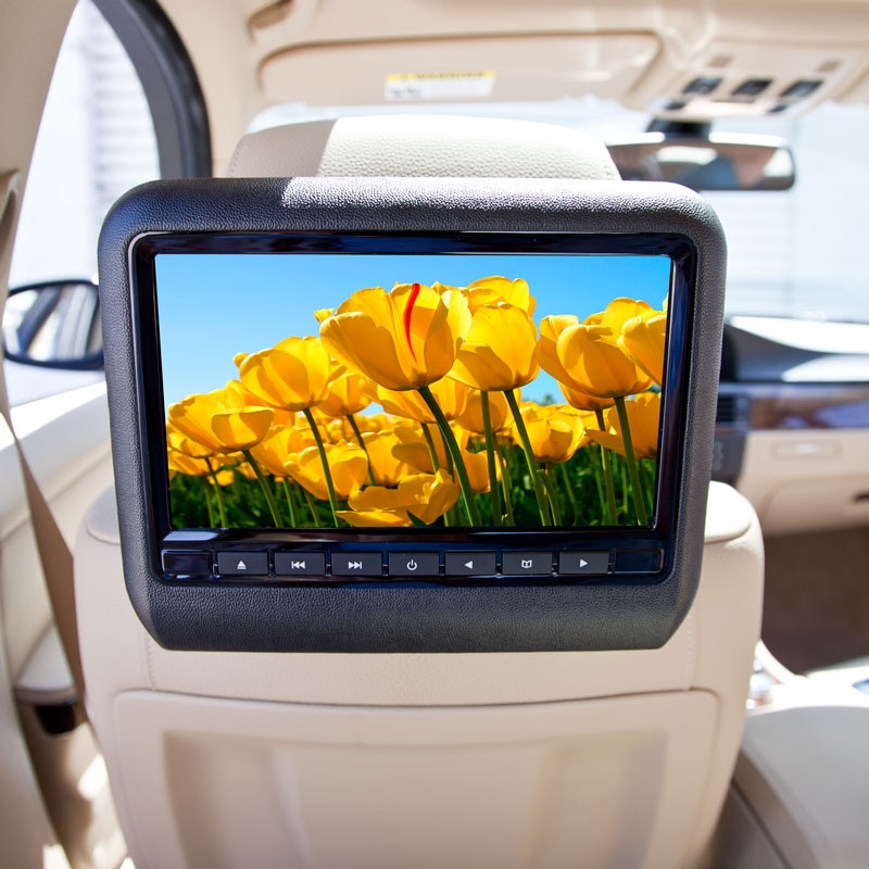 Accele DVD9800 9 Inch LCD Headrest Monitor And DVD Player
