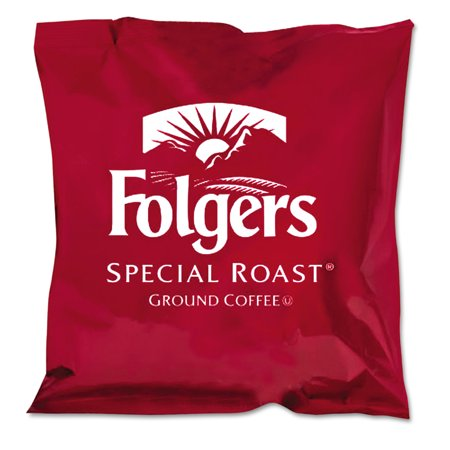 Folgers Special Roast Ground Coffee, 0.8 oz, 42 count