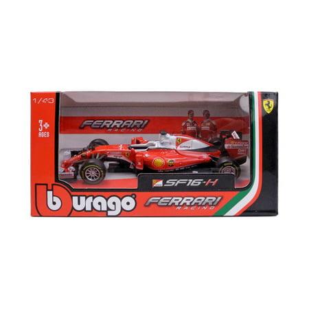 2016 Ferrari Racing Formula 1 SF16-H Sebastian Vettel #5 1/43 Diecast Model Car  by Bburago
