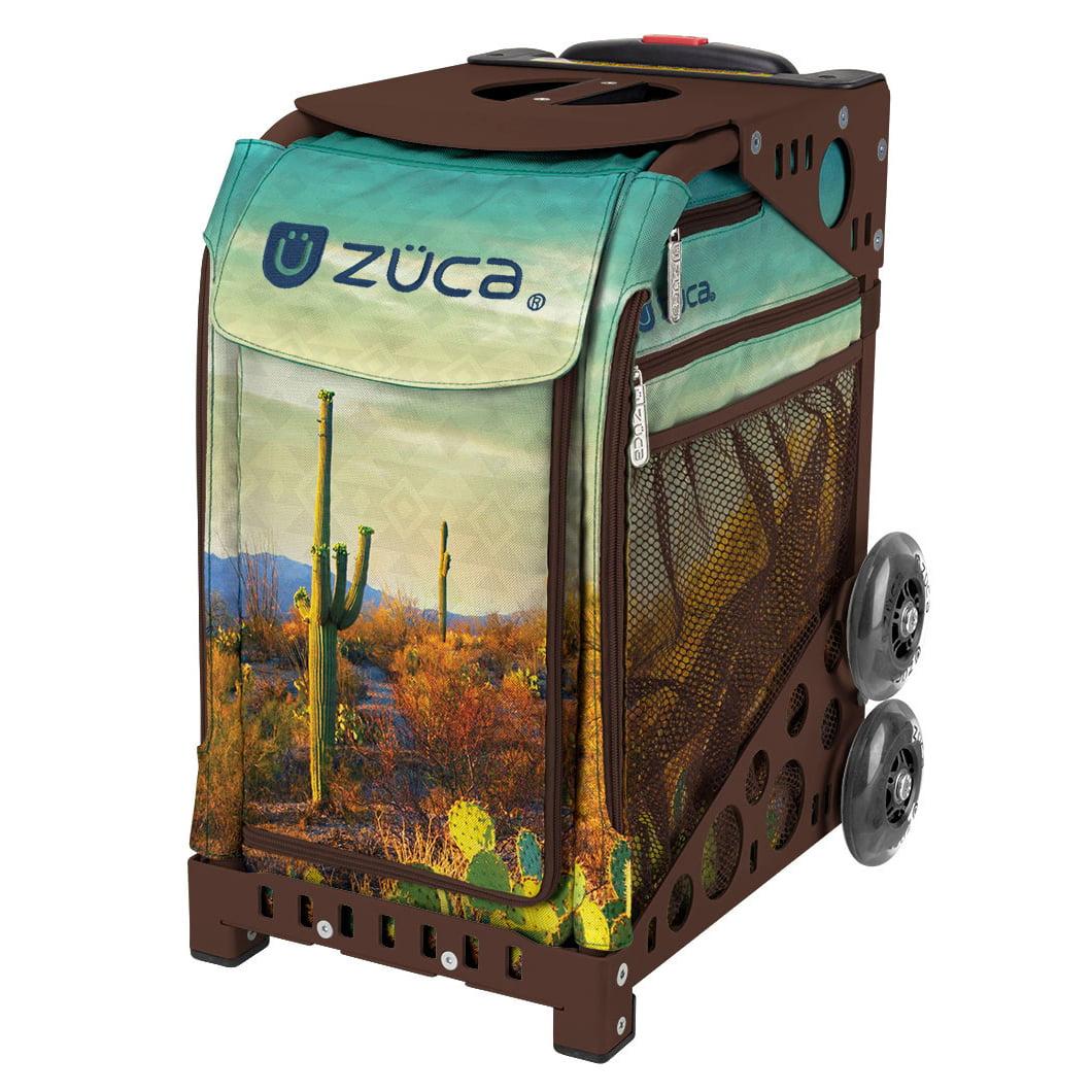 ZÜCA Cacti Insert Bag + Sport Frame w/ LED Flashing Wheels (Gray)
