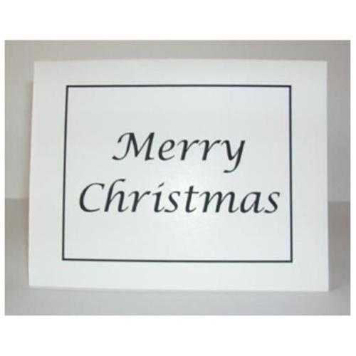 Village Wrought Iron CARD-CHRISTMAS  CARD-CHRISTMAS  Merry Christmas Card with Matching Envelope