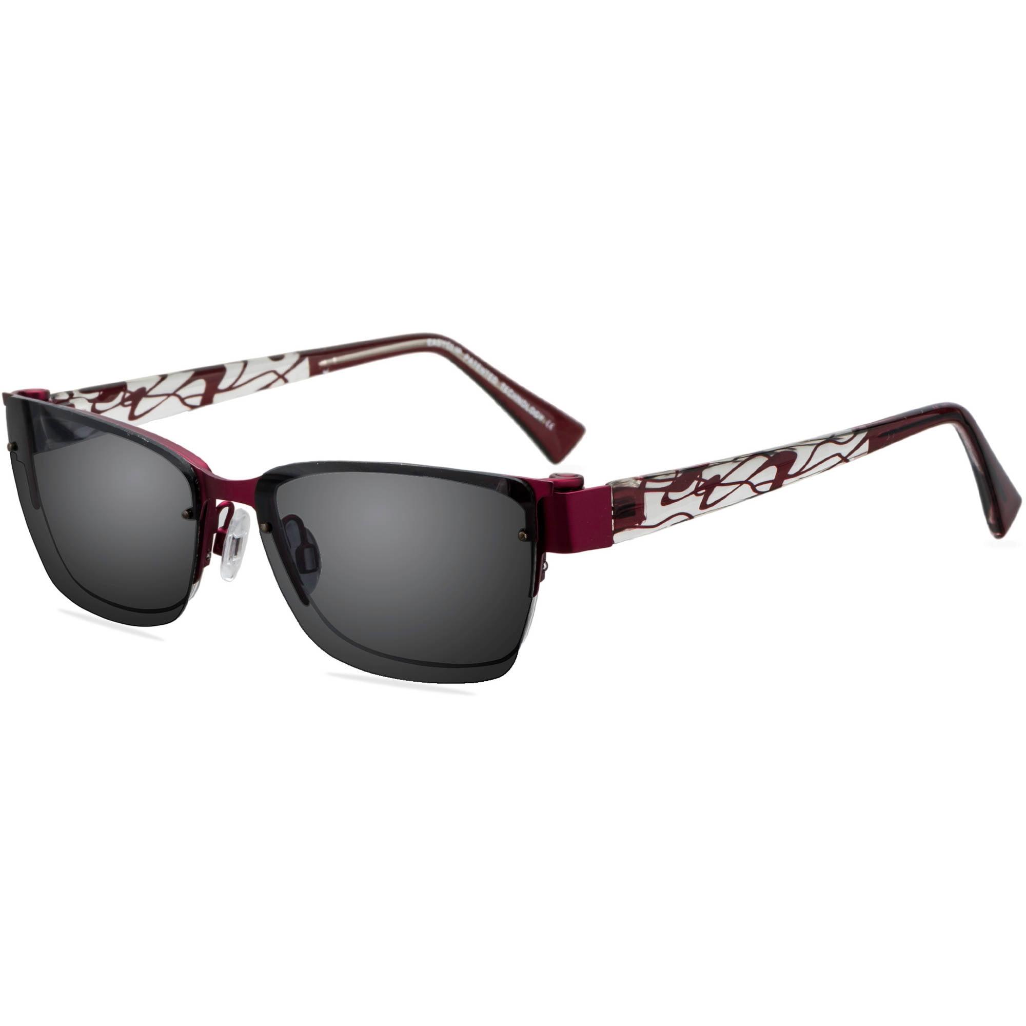 easyclip womens prescription glasses ec326 walmart