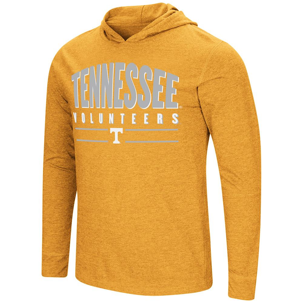 Mens Tennessee Volunteers Long Sleeve Tee Shirt Hoodie - S