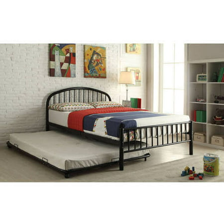 Cailyn Full Bed with Trundle, Black ()