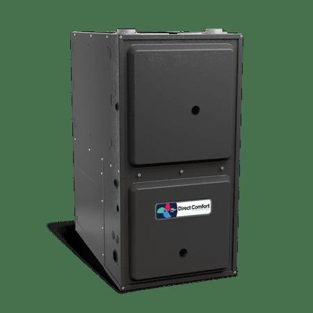 HVAC Direct Comfort by Goodman DC-GMSS Series Gas Furnace - 96% AFUE - 60K BTU - 1 Speed - Upflow/Horizontal - 17-1/2