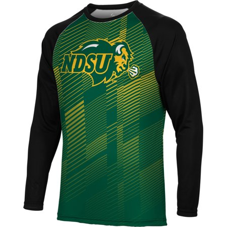 Spectrum Sublimation Men's North Dakota State University Bold Long Sleeve