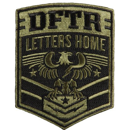 defeater men39s letters home embroidered patch black With letter patches walmart