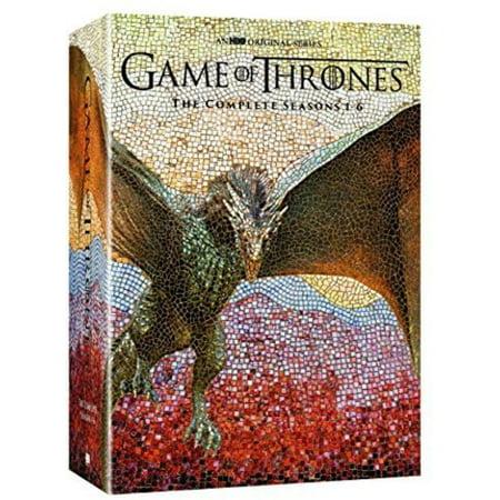 Game of Thrones: Season 1 - Season 6 (DVD) (Signing Naturally 1 6 Wkbk W 2 Dvds)