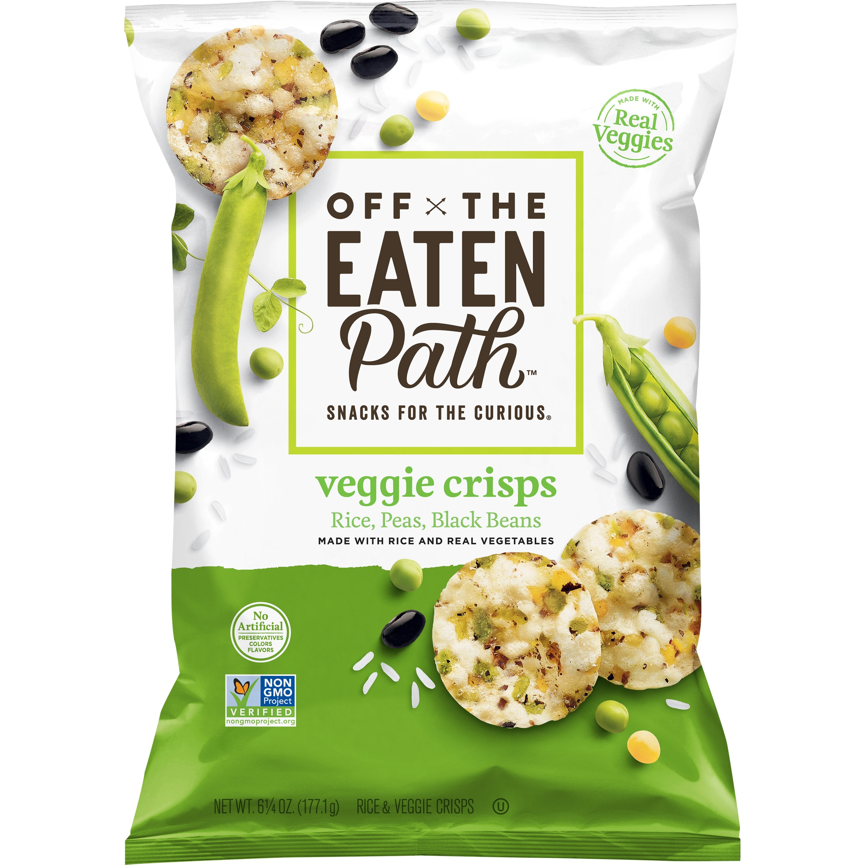 Off the Eaten Path Veggie Crisps, 6 25 oz Bag - Walmart com