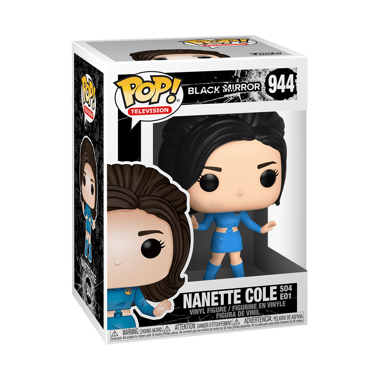 FUNKO POP! TELEVISION: Black Mirror - Nanette Cole (Toys)