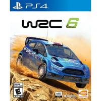 WRC 6, Bandai/Namco, PlayStation 4, 722674121309