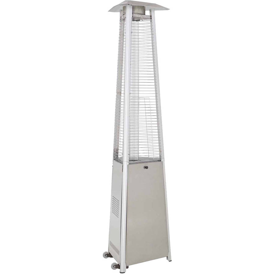Hiland Commercial Stainless Steel Glass Tube Patio Heater by AZ Patio Heaters