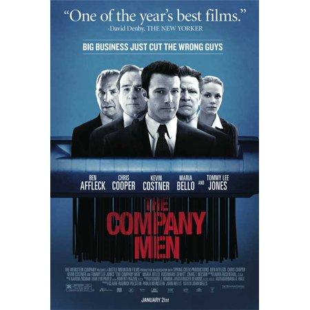 The Company Men POSTER Movie Mini Promo - Garner Affleck Halloween