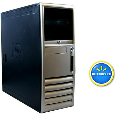 Refurbished HP Black DC7700 Desktop PC with Intel Core 2 Duo Processor, 2GB Memory, 80GB Hard Drive and Windows 7 Home Premium (Monitor Not Included)