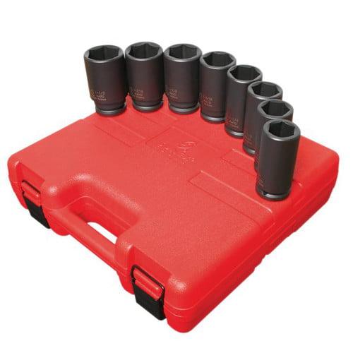 Sunex Tools 4681 3/4Dr. 8Pc. Dp. Imp. Set