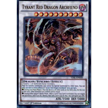 YuGiOh The Dark Illusion Tyrant Red Dragon Archfiend TDIL-EN050