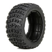 Losi 45006 Left&Right Tire(1ea)&Foam Insert(2):1:5 4wd DB XL