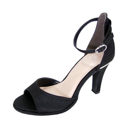 Wide Dress Sandals (Floral Women's Maxine Wide Width Open Toe D'Orsay Dress)