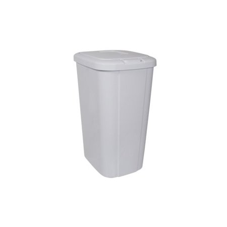 Hefty Touch-Lid 13.3-Gallon Trash Can, - White Trash Halloween