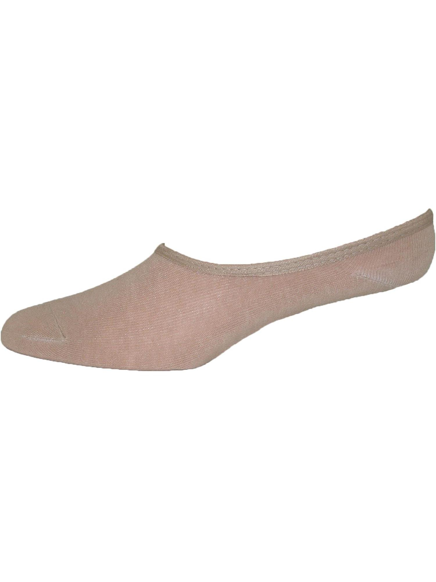 Size one size Women's Cotton Nude Low Cut Ballet Sock Liner
