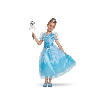 Cinderella Deluxe Child Costume - Cinderella Costumes For Women