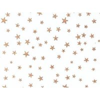 """1 Unit Gold Stars 4x2x9"""" Cello Bags 1.2 mil Unit pack 100"""