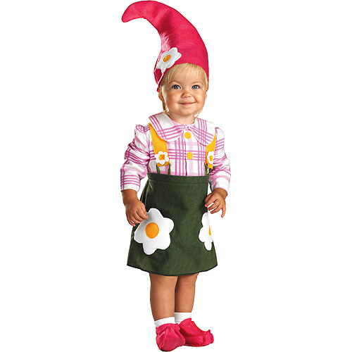 Gnome Girl Toddler Halloween Costume