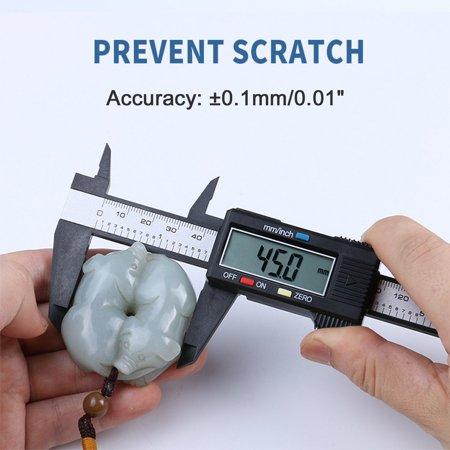 (Carbon Fiber Composites Digital Caliper 0-150mm Gauge Micrometer Measuring Tool)