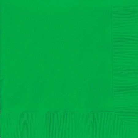 Creative Expressions Luncheon Napkins 50-Pack, Emerald Green