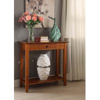 Convenience Concepts American Heritage Hall Table with Drawer and Shelf, Multiple Finishes