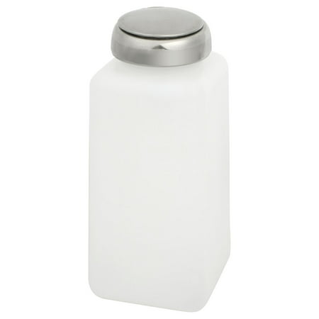Unique Bargains Lab Industry 250ml Chemical Reagent Container Alcohol Bottle White Silver Tone
