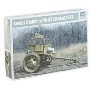 trumpeter 1/35 soviet limber 52-r-353m mod.1942 model kit