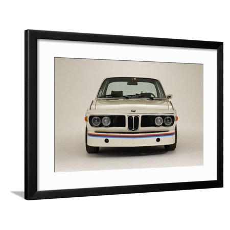 1974 BMW 3.0 CSL Batmobile Framed Print Wall Art