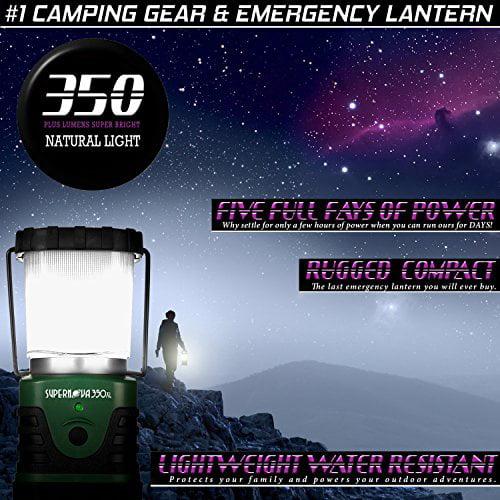 Supernova 350XL Lumens Ultra Bright LED Camping and Emergency Lantern by Supernova