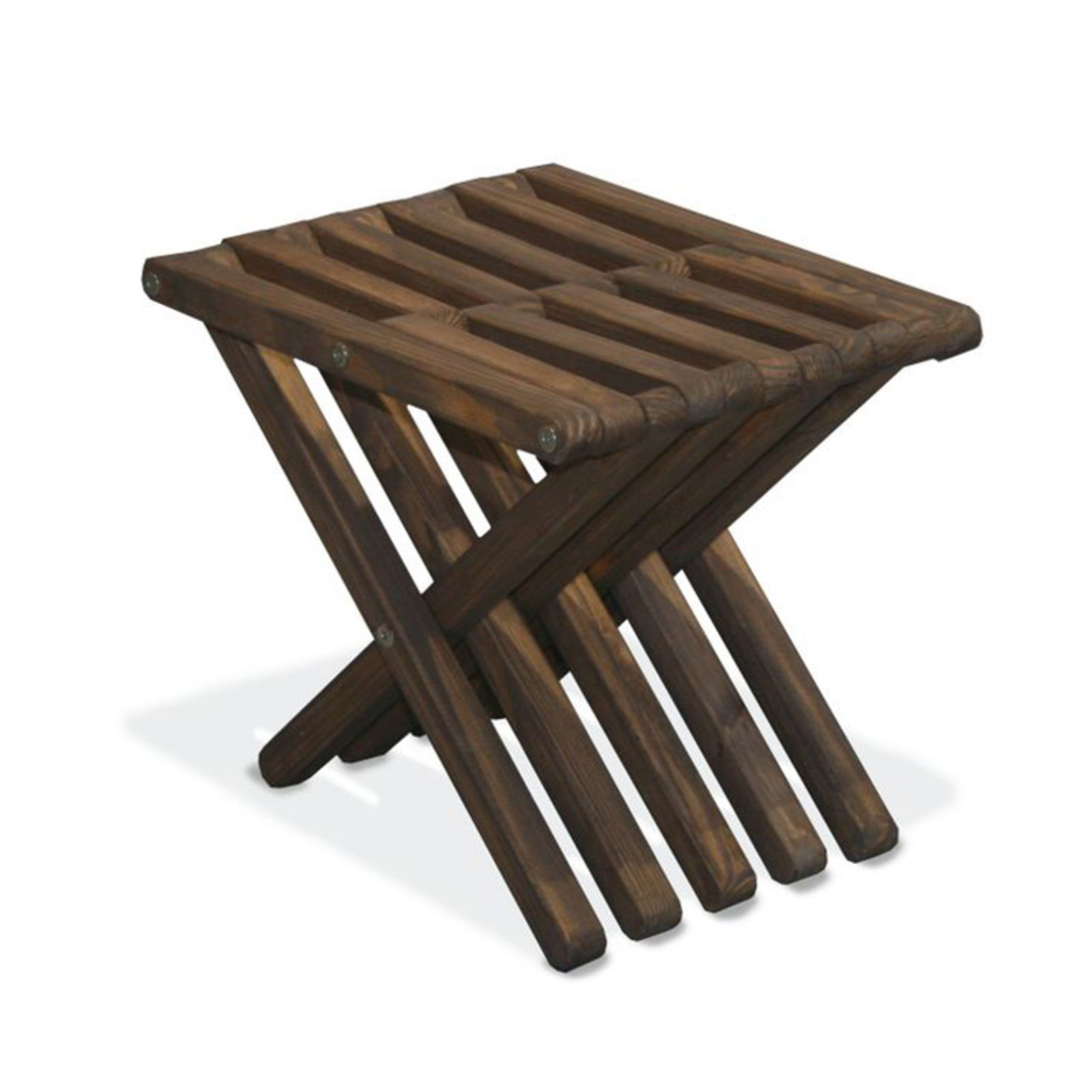GloDea Xquare X30 Wooden Patio Stool