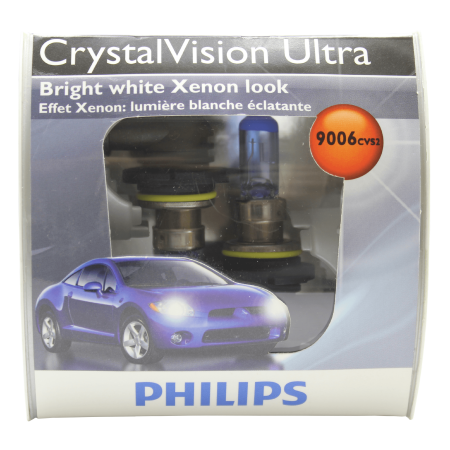 Philips 9006 HB4 - Blue Tint Crystal Vision Ultra Low Beam headlight - 2