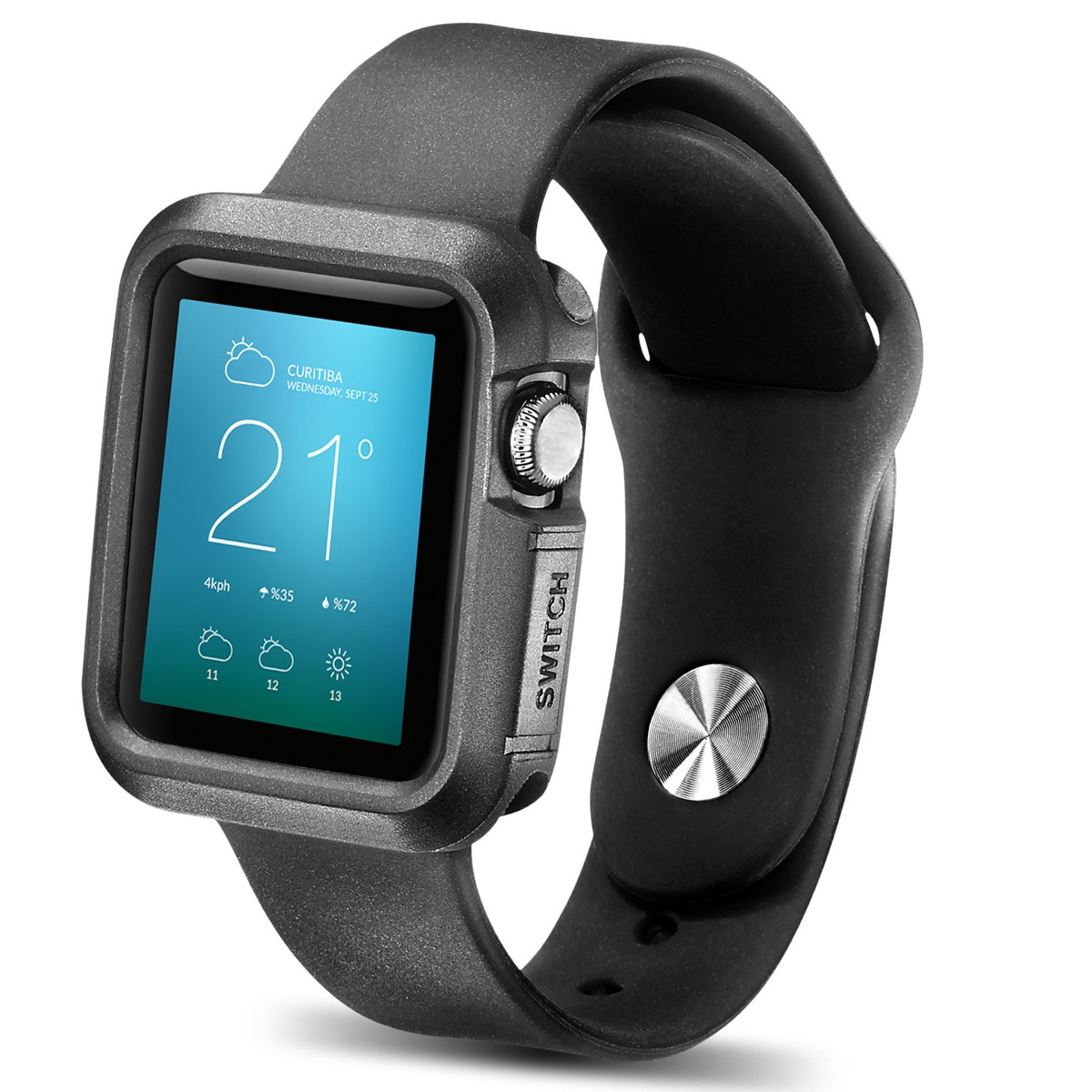 Apple Watch Case, New Trent TPU Cases for Apple Watch / Watch Sport / Watch Edition 2015 Release 38 mm