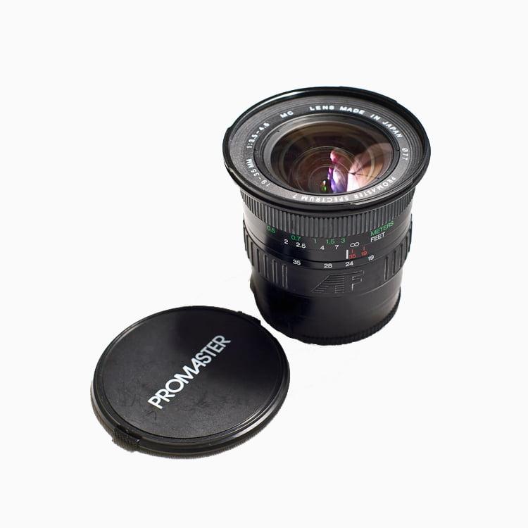 Promaster AF19-35mm f3.5-4.5 Wind Angle Zoom for Minolta ...